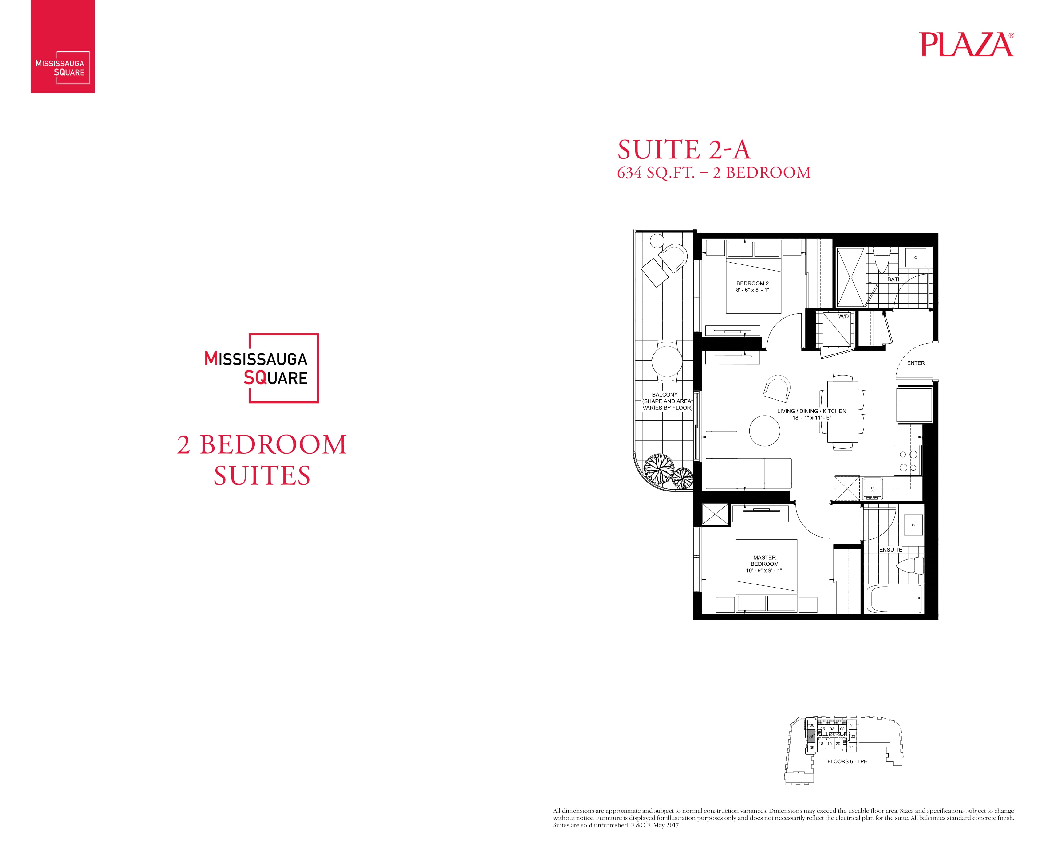 City Center Floorplans Nordale Realty Inc Exclusive Lormel 2 Bedroom Electrical Plan Home Mississauga Square